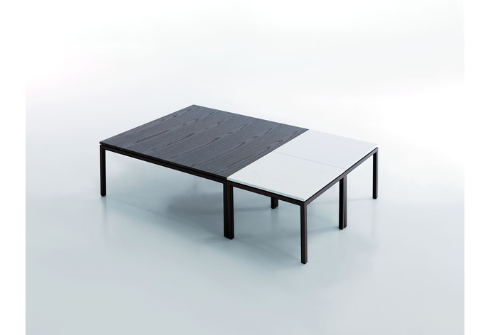 Essencial Square Coffee Table Style A