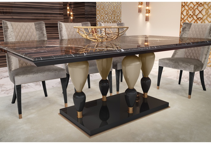 Imperador Large Rectangular Dining Table