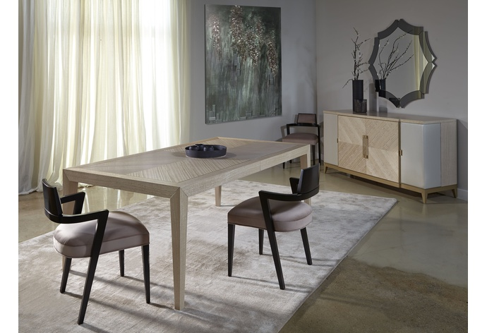 Couture Rectangular Extension Dining Table
