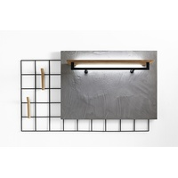 Brik Wardrobe Shelf and Hook Panel 5141/5142