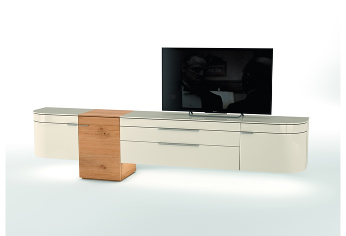 Miola A Media Cabinet - Wall Mounted