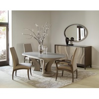 Artisan Race Track Oval Extension Dining Table