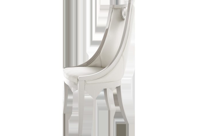 Carlotta Chair with Key Hole Back
