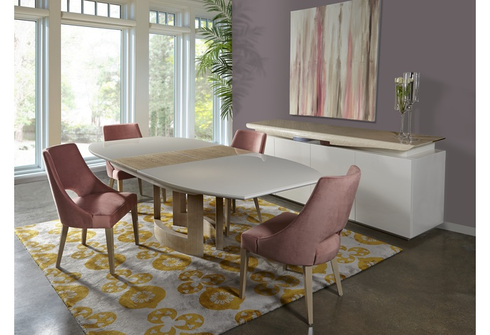 Curve Extension Dining Table