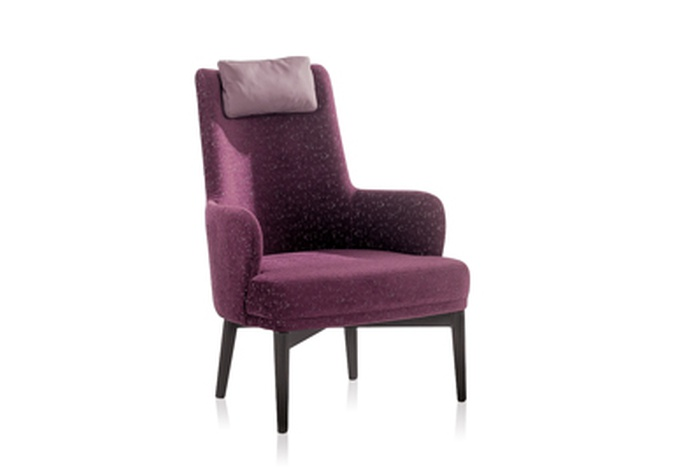Valentino Tub Chair with Head Support