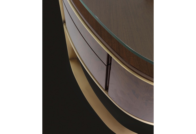Iland LifeStyle Oval Desk