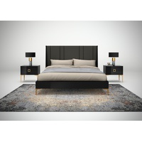 Juliana Bed (Upholstered Head Board)