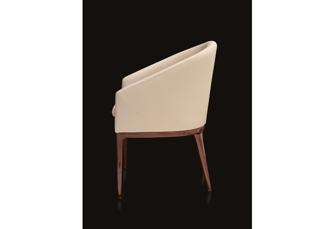 Iland Calas Dining Chair with Walnut Legs
