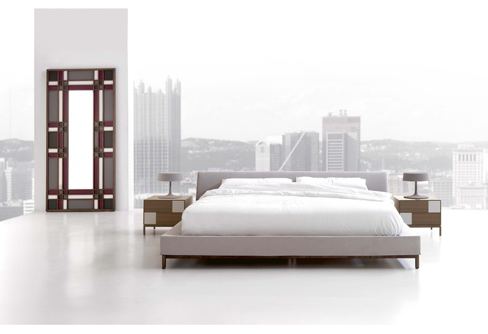 Essencial Upholstered Bed (Low Headboard)